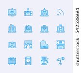 devices icons | Shutterstock .eps vector #542538661