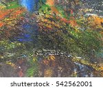 abstract dirty watercolor on... | Shutterstock . vector #542562001