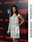Small photo of NEW YORK-JULY 11: Actress Laura Gomez attends 'The Infiltrator' New York premiere at AMC Loews Lincoln Square 13 Theater on July 11, 2016 in New York City.