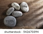 Pebbles Or Stone With...