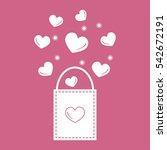 cute vector illustration of... | Shutterstock .eps vector #542672191