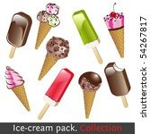 Ice Cream Pack. Collection. Se...