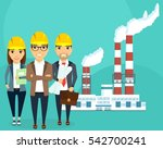 plant for the production of...   Shutterstock .eps vector #542700241