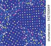 vector color pattern. geometric ... | Shutterstock .eps vector #542703049