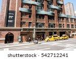 nyc  august 27  2016  exterior... | Shutterstock . vector #542712241