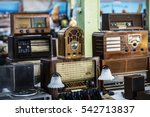old objects for sale at a flea... | Shutterstock . vector #542713837