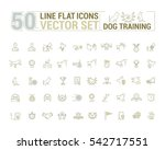 vector graphic set. icons in... | Shutterstock .eps vector #542717551
