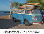 honolulu  hawaii  usa  dec. 25  ... | Shutterstock . vector #542747569