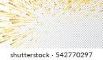 Gold Bright Firework  Confetti...