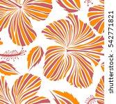 aloha hawaii  luau party... | Shutterstock .eps vector #542771821