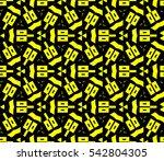 ornamental seamless pattern....   Shutterstock .eps vector #542804305