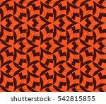 ornamental seamless pattern.... | Shutterstock .eps vector #542815855
