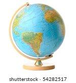 Globe Isolated On White...