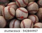 baseballs | Shutterstock . vector #542844907