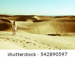 traveling to the canary islands | Shutterstock . vector #542890597