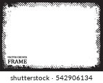 vector grunge frame.distress...   Shutterstock .eps vector #542906134
