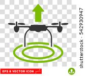 vector start drone eps vector... | Shutterstock .eps vector #542930947
