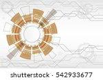 vector communication concept... | Shutterstock .eps vector #542933677