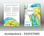 olor brochure template with ...   Shutterstock .eps vector #542937085
