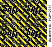 sale background black and... | Shutterstock .eps vector #542940394