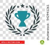 vector glory cup laurel wreath...