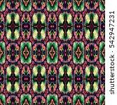 abstract decorative multicolor... | Shutterstock . vector #542947231