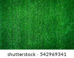 artificial grass field top view ... | Shutterstock . vector #542969341