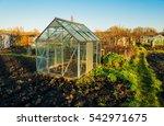 allotment vegetable gardens... | Shutterstock . vector #542971675