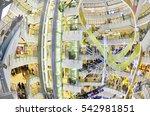 bangkok thailand  december 25 ... | Shutterstock . vector #542981851