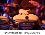 Percussionist. Performance At...
