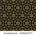 vector seamless pattern with... | Shutterstock .eps vector #543034177