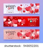 valentines day sale background... | Shutterstock .eps vector #543052201