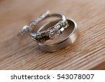 wedding rings | Shutterstock . vector #543078007