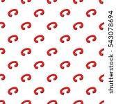 circular arrow pattern. cartoon ... | Shutterstock .eps vector #543078694