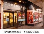 nottingham  england   december... | Shutterstock . vector #543079531