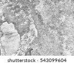 crack grunge concrete wall... | Shutterstock . vector #543099604