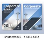 multipurpose corporate business ... | Shutterstock .eps vector #543115315