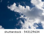 texture  background. clouds ... | Shutterstock . vector #543129634