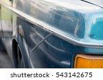 car damaged | Shutterstock . vector #543142675
