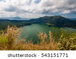 Lake In The Crater Of The Taal...