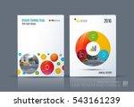business vector. brochure...   Shutterstock .eps vector #543161239