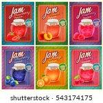 jam vintage banner | Shutterstock .eps vector #543174175