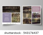 business templates for square... | Shutterstock .eps vector #543176437