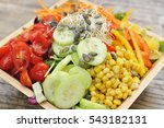 Small photo of Salad plate