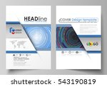 business templates for brochure ... | Shutterstock .eps vector #543190819