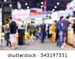 abstract blur people shopping... | Shutterstock . vector #543197551