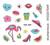 Fashion Patch Sticker Badge...