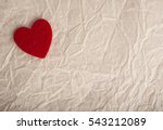 Red Heart White Paper. Love...