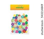 candy lollipop sweetmeat... | Shutterstock .eps vector #543214849