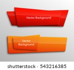 vector banner. the original... | Shutterstock .eps vector #543216385